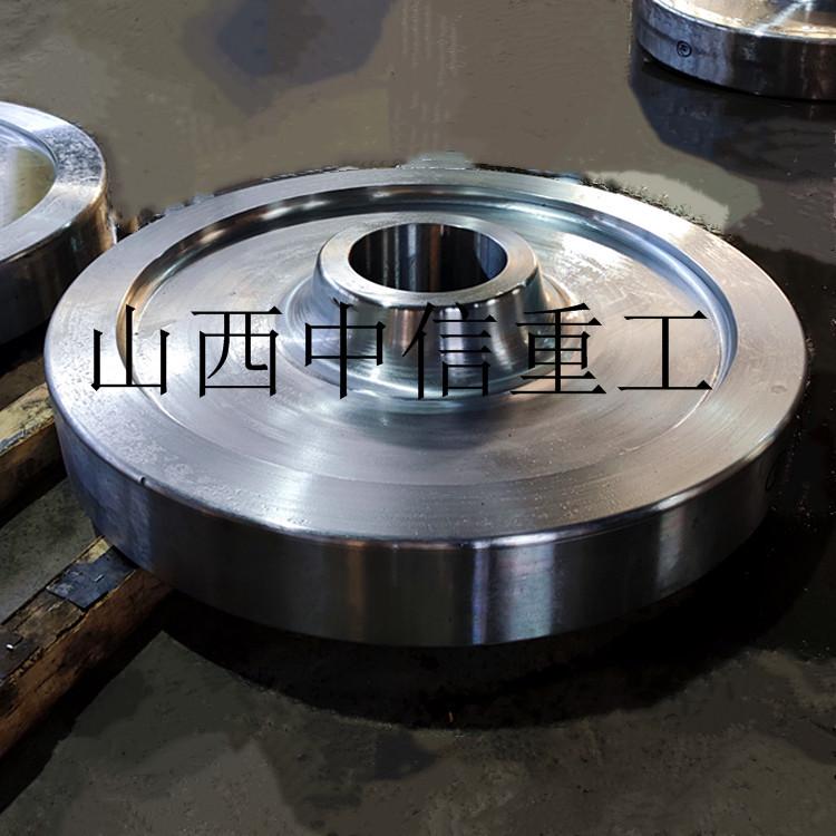 起重机车轮 锻造车轮 轨道轮 行车轮 车轮锻件